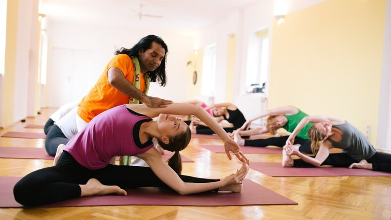 Мастер класс йоги