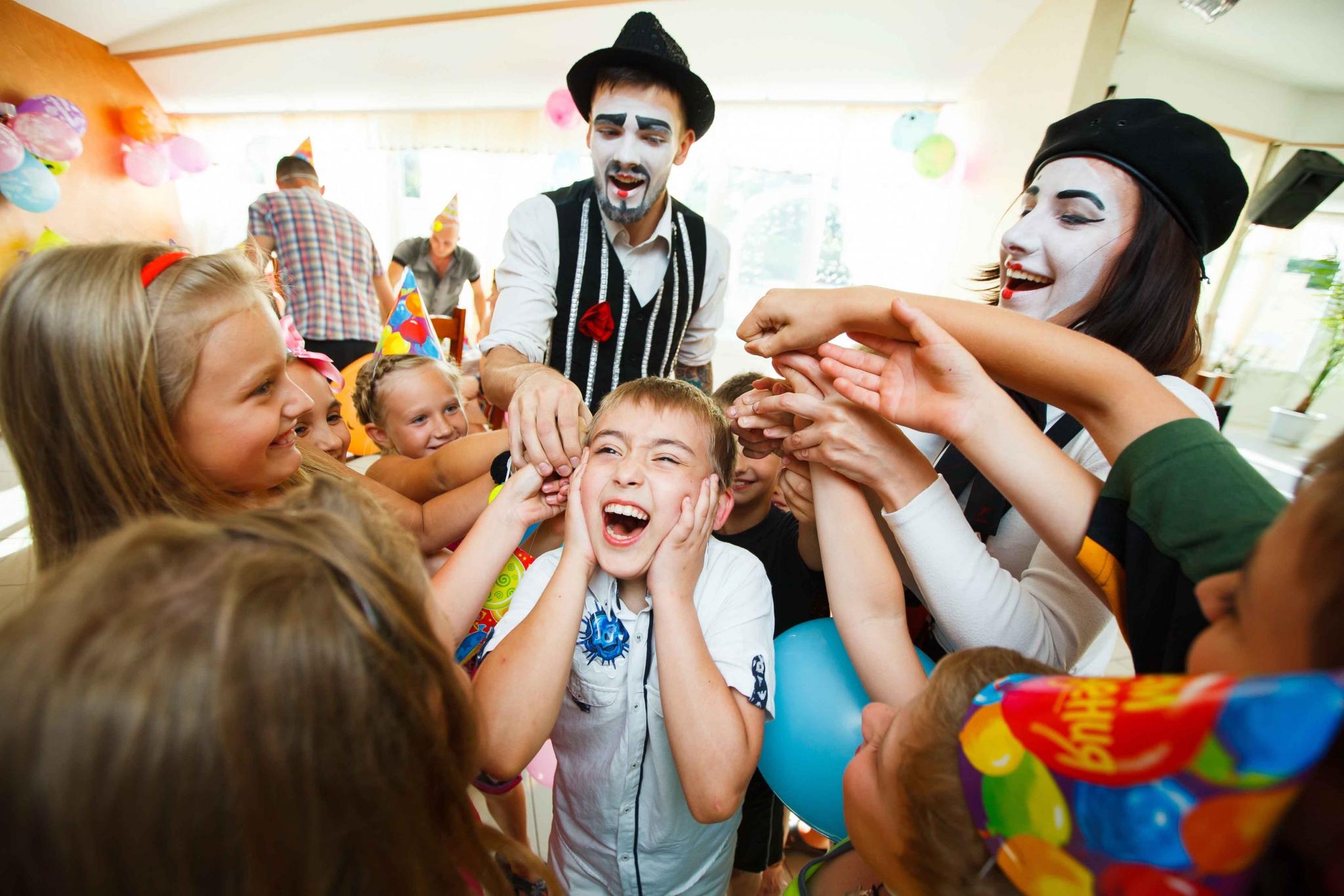Конкурсы и развлечения на детских праздниках