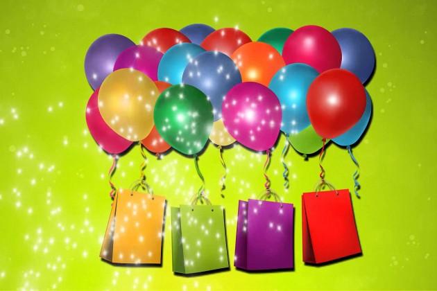 Подарок на день рождения шарики 29