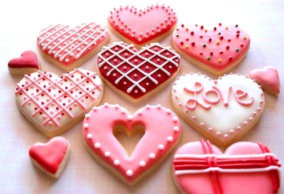 Рецепт с фото печенье валентинки