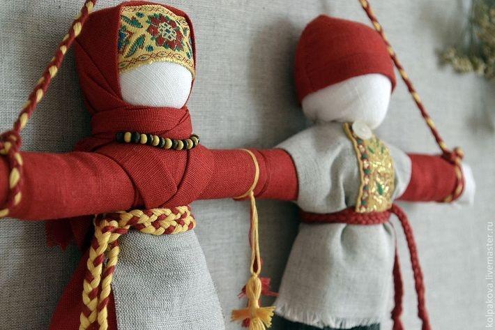 Мастер-класс куклы обереги своими руками