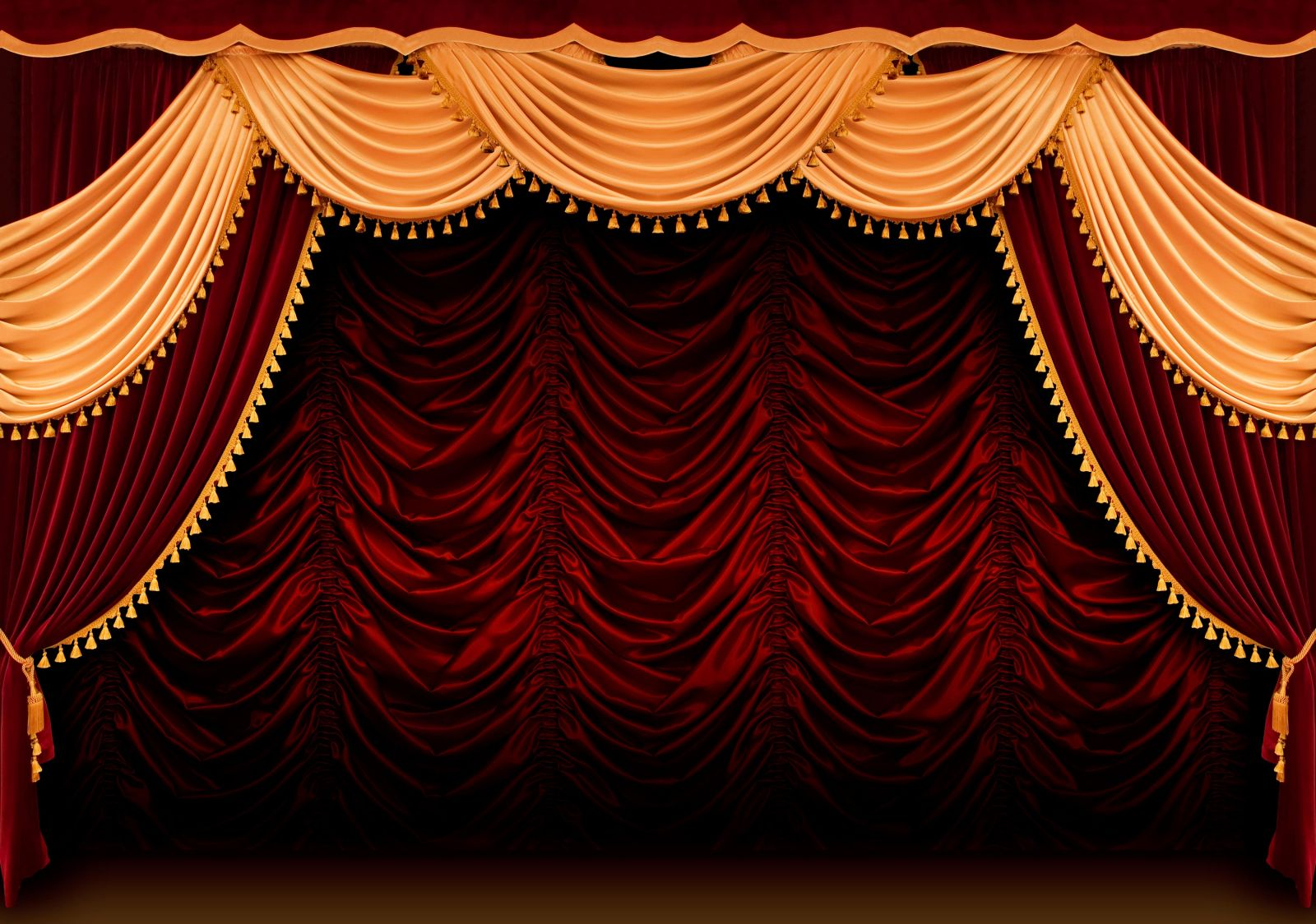 Штора для театра