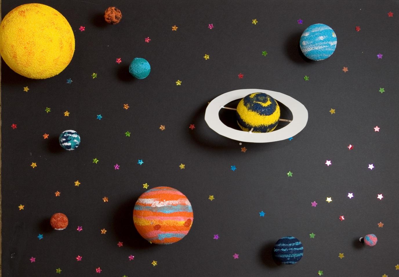 Солнечная система планеты макет своими руками