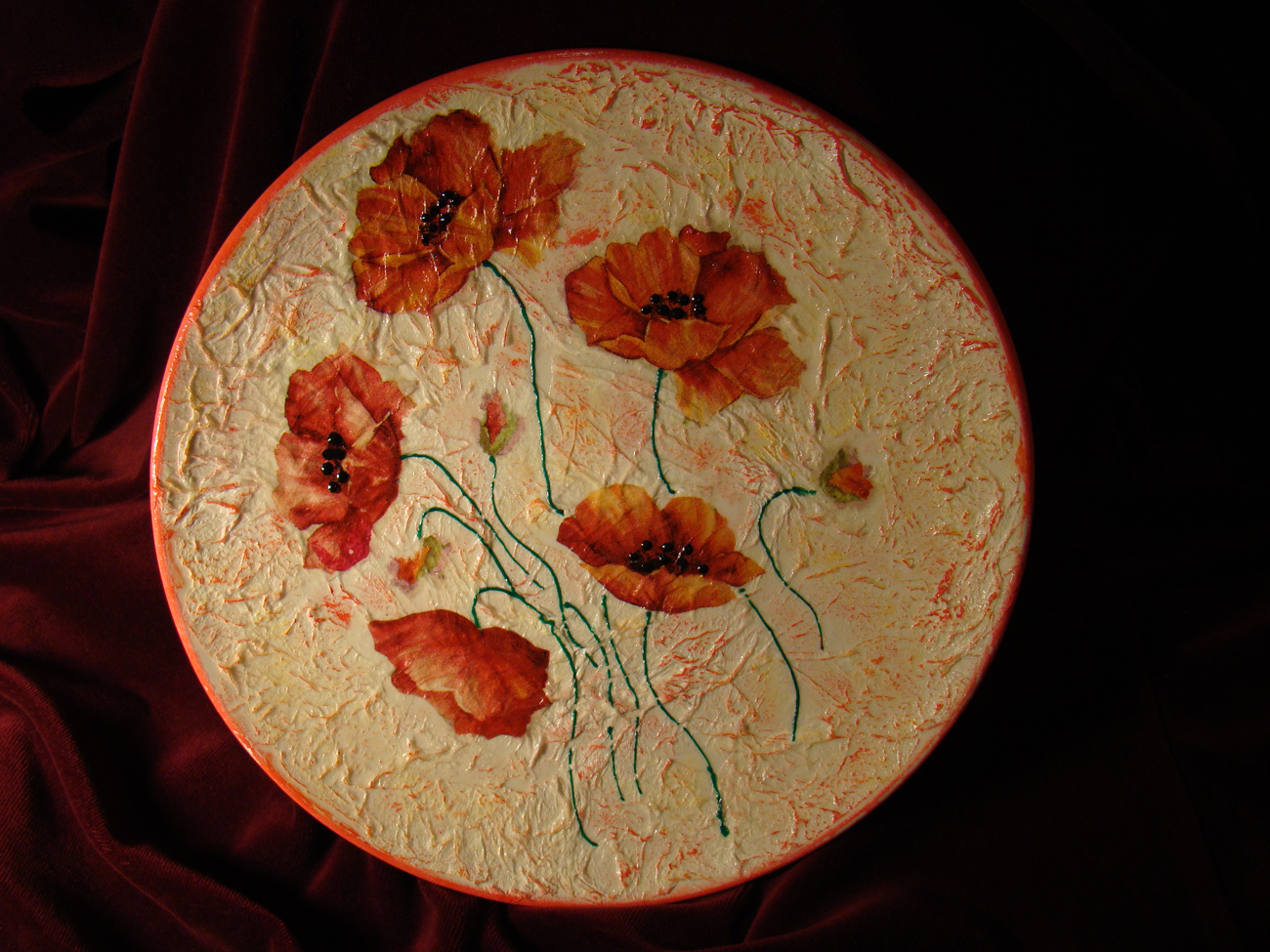 Фото на тарелке своими руками мастер класс
