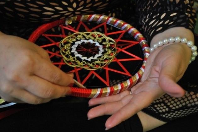 Индийская мандала плетение своими руками