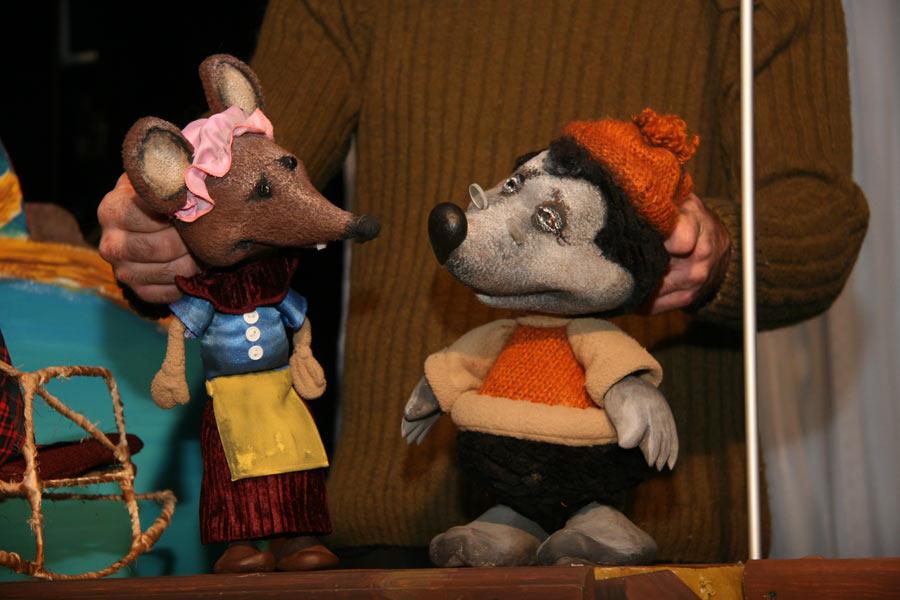 Дюймовочка кукольный театр своими руками