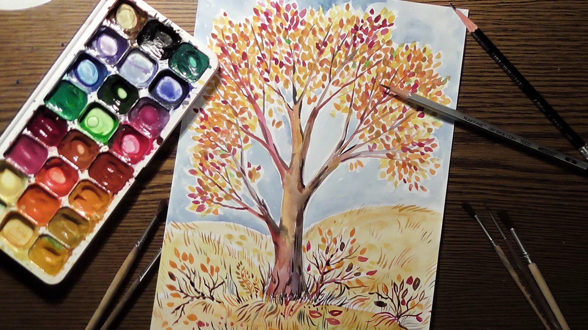 Фото делает нарисованной красками