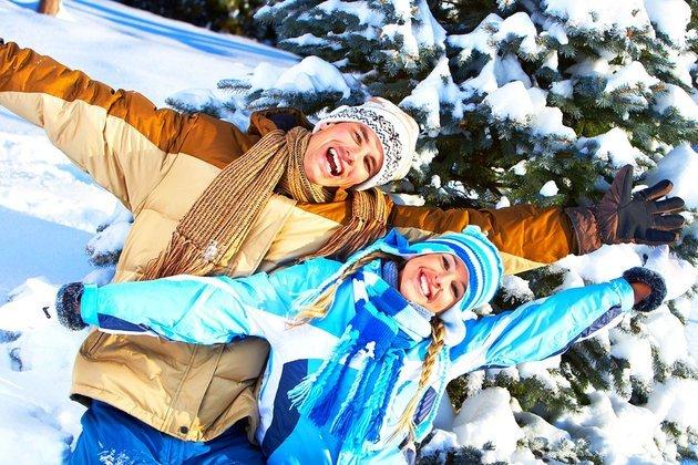 Новый год с детьми на алтае
