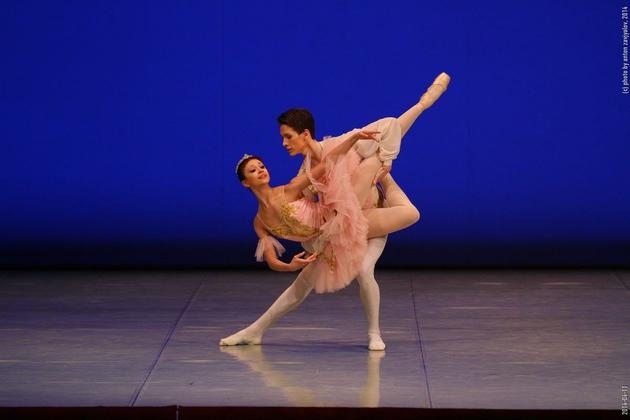 Конкурс артистов балета арабеск