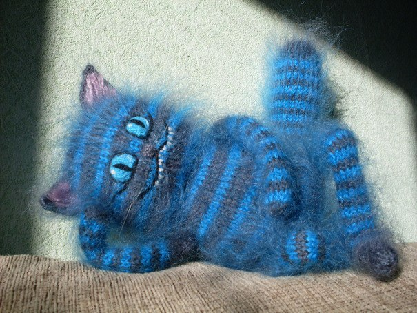Как сделать чеширского кота своими руками мягкую игрушку