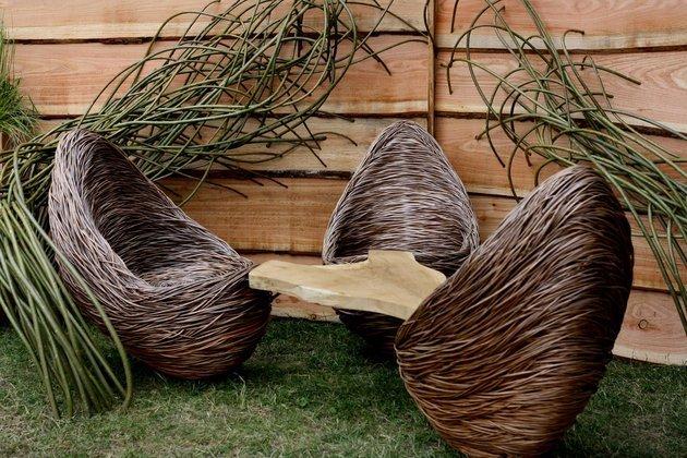 Мебель из ивовых прутьев своими руками