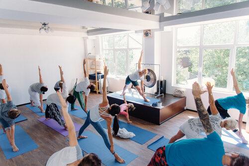 Yoga iyengar la vaguada