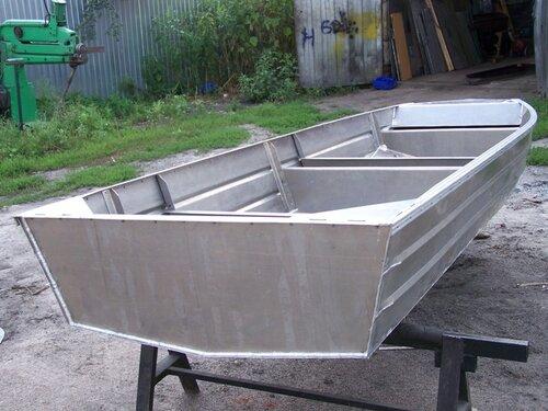 Алюминевая лодка своими руками