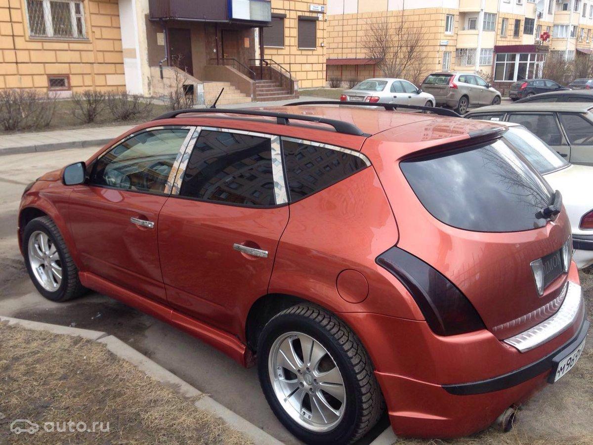 Продам авто ниссан мурано 2003 год об35 акпп газ-бензин