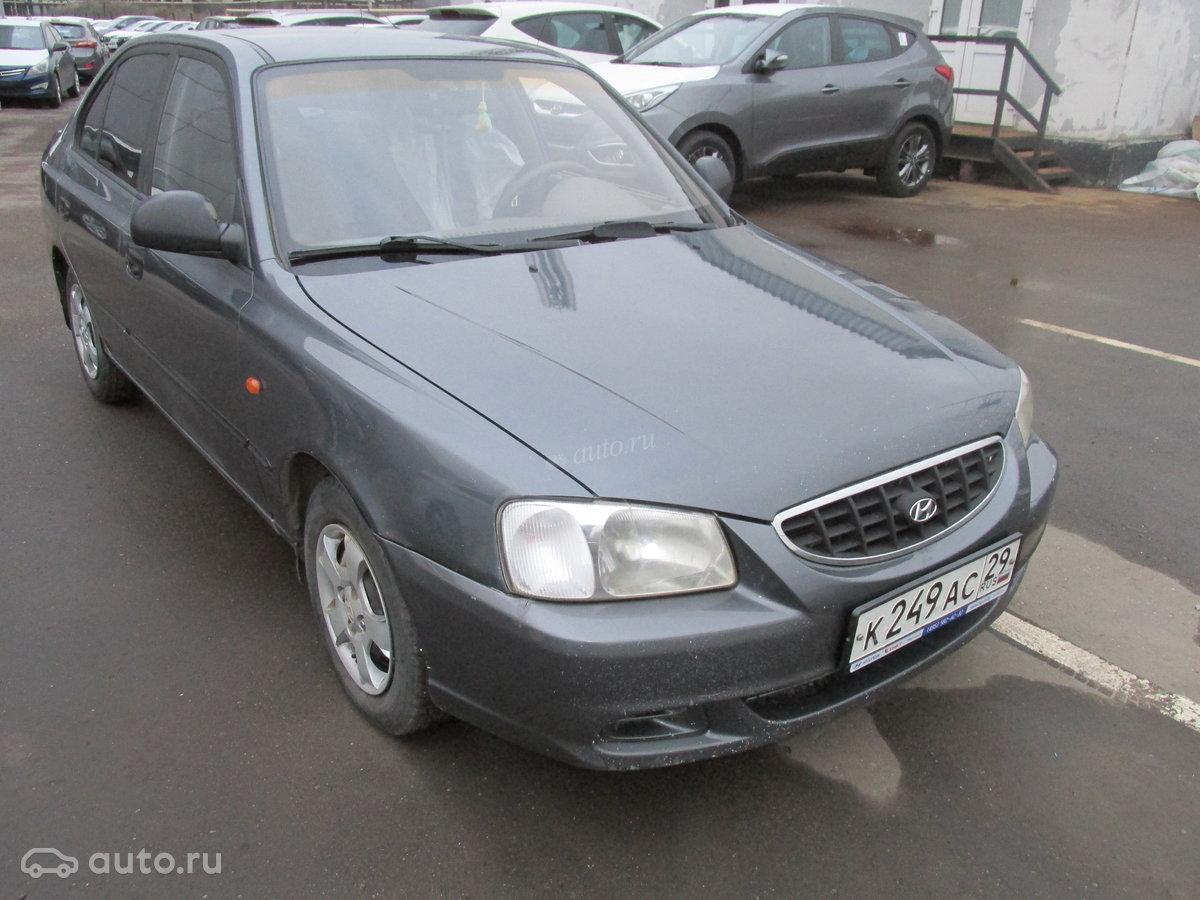 Hyundai accent ii (тагаз) tagaz 2010 года, пробег 125 000 км, двигатель tagaz 15 mt (102 лс), цвет серый за 288
