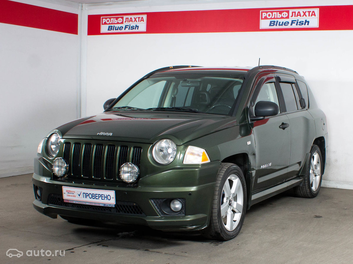 Jeep compass i 2006 года, пробег 134 894 км, двигатель 24 cvt (170 лс), цвет чёрный за 475 000 рублей