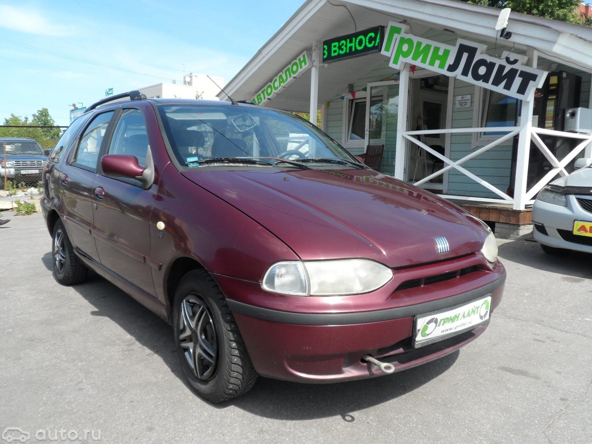 Смотрите, какая машина: fiat palio i 2000 года за 99 000 рублей на автору!