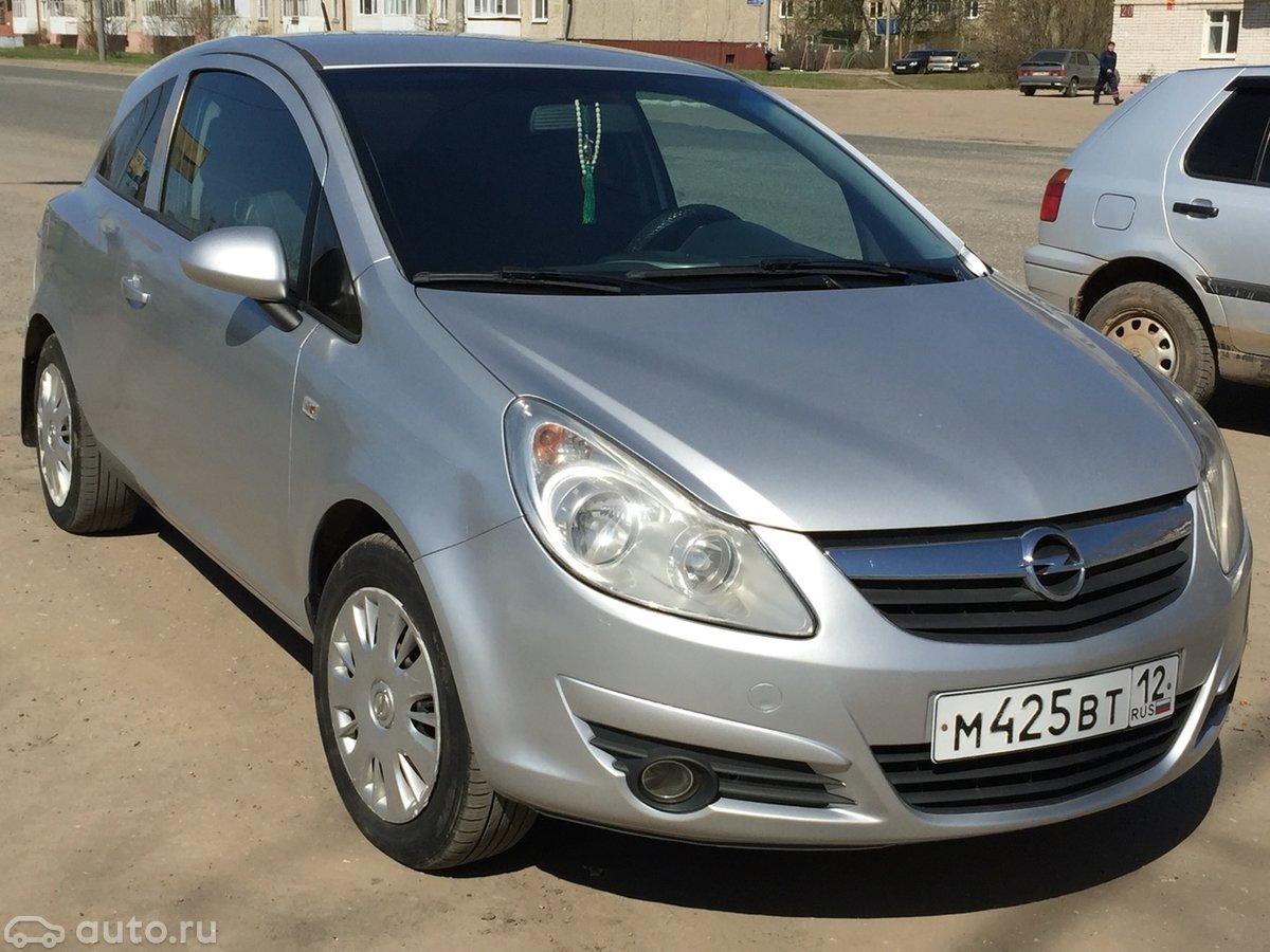 Смотрите, какой автомобиль: opel corsa d 2007 года за 250 000 рублей на автору!
