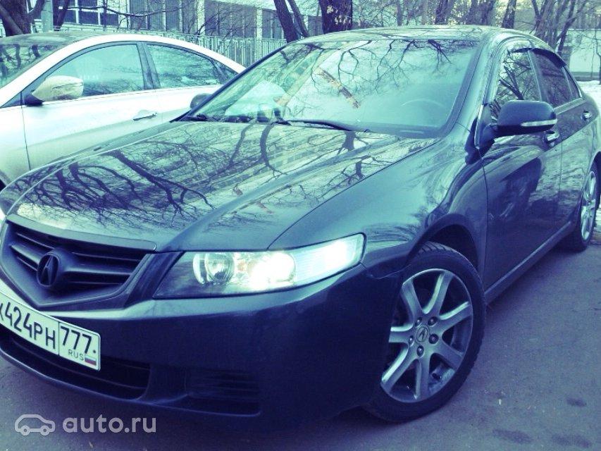Acura tsx, 2004 год, 590 000 руб