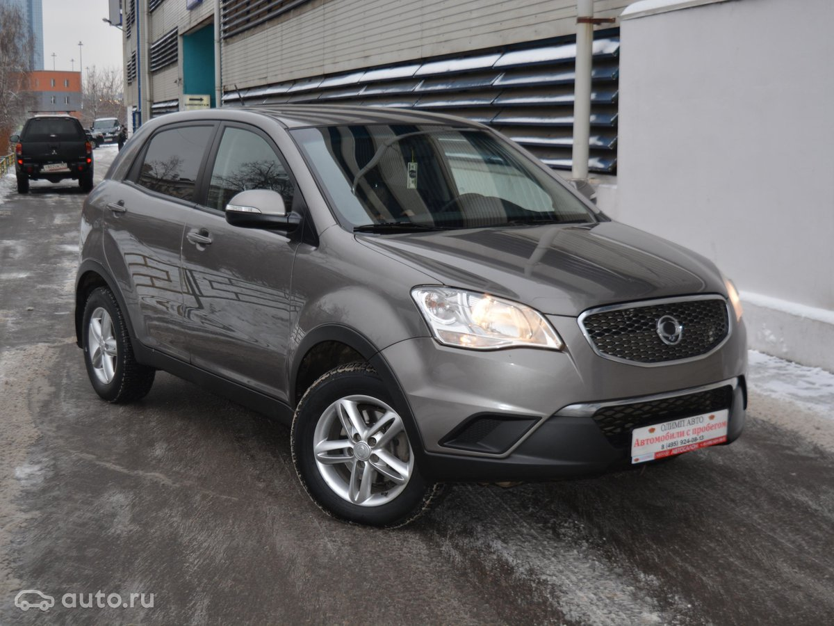 Ssangyong actyon диагностика