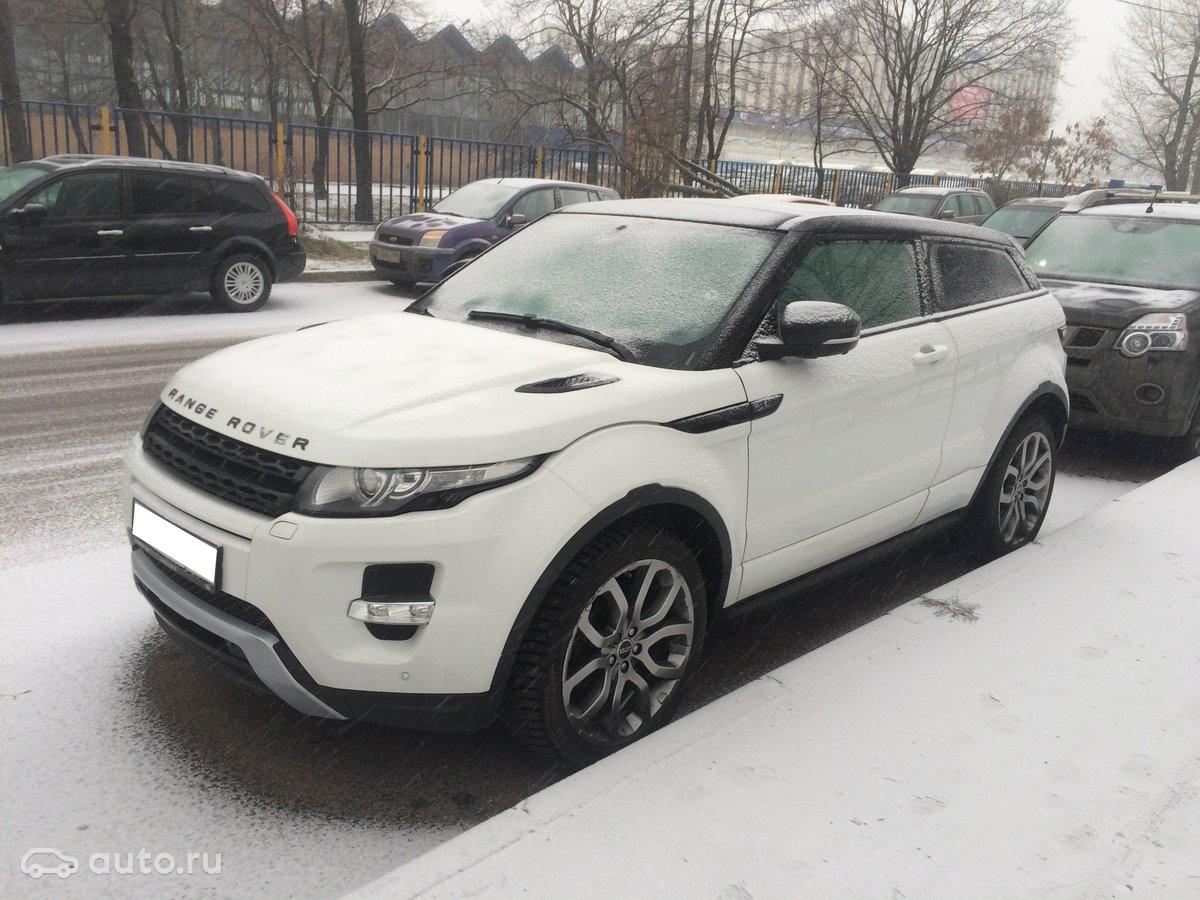 Новый range rover evoque белого цвета для проведения свадьбы - 5