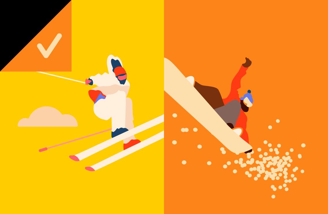 Лыжи или сноуборд, нефть или биткойн — что ищут чаще?