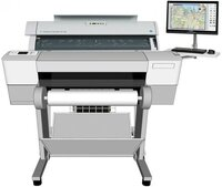 Профессиональное широкоформатное МФУ Colortrac Professional MFP for Full Colour Graphics & Technical Documents 36
