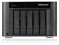 Infortrend Настольная система хранения EonStor GSe Pro 200 5bay, desktop cloud-integrated unified storage, supports NAS, block,2x4GB, 2 x10GbE…