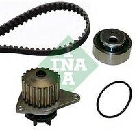 Водяной насос + комплект зубчатого ремня Ina 530001630