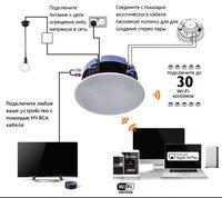 Встраиваемая WiFi активная беспроводная мультирум акустическая система lumiaudio WSP-6