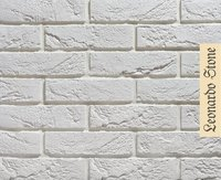 Декоративный кирпич Leonardo Stone Париж Гипс 100 мм (Искусственный камень)