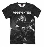 Футболка Print Bar Foo Fighters (MZK-314674-fut-2-6XL)