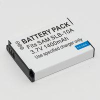 Аккумулятор SBL-10A для фотоаппарата Samsung HMX-U100