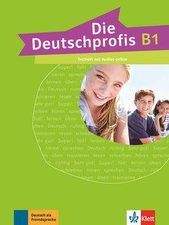 Deutschprofis, die B1 Testheft + Audios online