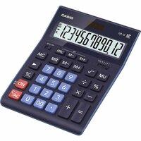 Калькулятор настольный Casio GR-12-BU 12-разрядный синий