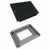 DKC / ДКС R5DTB104 Комплект, крыша и основание, 1000x400мм (ШхГ) для шкафов серии DAE, сталь, цвет железно-серый…