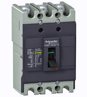 Термо-магнит. 3х-полюс. автоматический выключатель 63А 10kA, подключ. под шину Schneider Electric, EZC100F3063