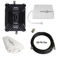 Комплект для усиления сигнала сотовой связи 2G/LTE в диапазоне 1800 мГц, площадь покрытия до 250 м2, 60 дБ / 17мВт, Everstream ES1800-KIT