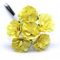 Декоративный букетик (светло-желтый), арт. DKB148N