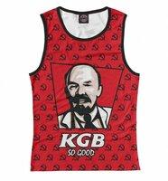 Майка Print Bar KGB So Good (SSS-736766-may-1-4XL)