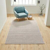 Ковер La Redoute Плоского плетения Akar 120 x 170 см серый