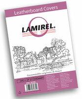 Обложки Lamirel Delta A4, с тиснением под кожу, песочного цвета, 100 штук