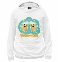 Худи Print Bar Wooo Hoo! (APD-429376-hud-6XL)