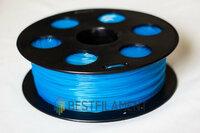 Bestfilament PLA пластик BestFilament, 1.75 мм, флуоресцентный голубой, 1 кг