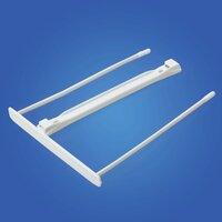 Механизмы для скоросшивания пластиковые FELLOWES Bankers Box , комплект 100 шт., пластик, белые, FS-0089701