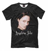 Футболка Print Bar Анджелина Джоли (ANJ-629369-fut-2-6XL)