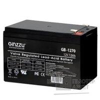 Ginzzu Батарея GB-1270 свинцово-кислотный, необслуживаемый, технология AGM, клемма 5 7мм