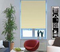Штора рулонная Эскар Миниролло. Blackout, светонепроницаемые, цвет: светло-бежевый, ширина 57 см, высота 170 см