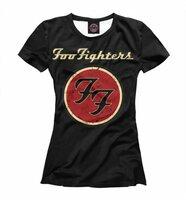 Футболка Print Bar Foo Fighters (MZK-852906-fut-1-4XL)