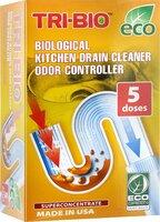 Биосредство Tri-Bio, для прочистки стоков бытовых и коммерческих кухонь, суперконцентрат, 100 г